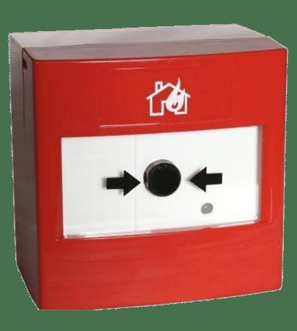 Pulsador rearmable de alarma. PFE-L/IN