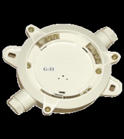 Base para detectores de llamas. G-33