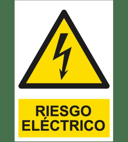 Señal / Cartel de Riesgo eléctrico