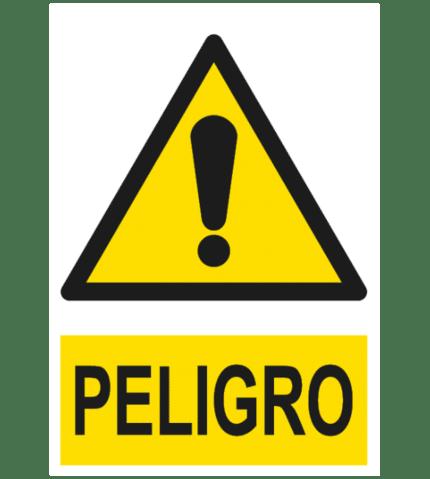 Señal / Cartel de Peligro