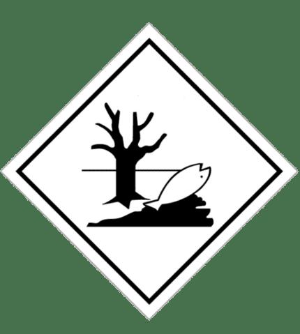 Señal de Contaminantes del mar y del medio ambiente