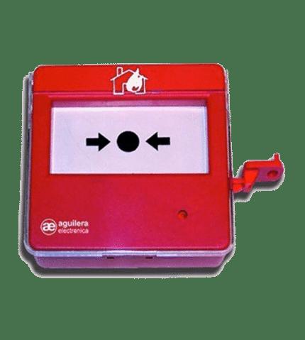 Pulsador incendios algorítmico direccionable AE/SA-PT
