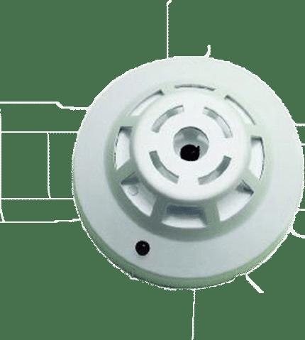 Detector termovelocimétrico a 24V AE085/TV