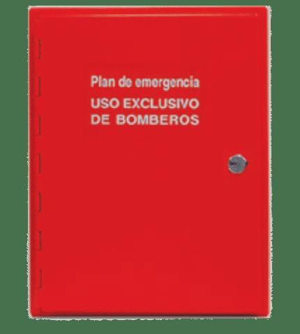 Armario para planos de evacuación