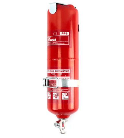 Automatic extinguisher of 3 kg PP3 powder