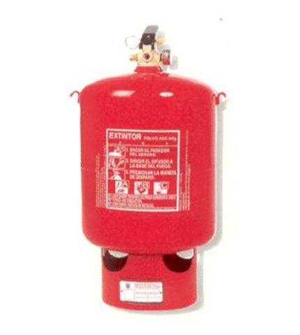 Automatic extinguisher of 6 kg PP6P powder