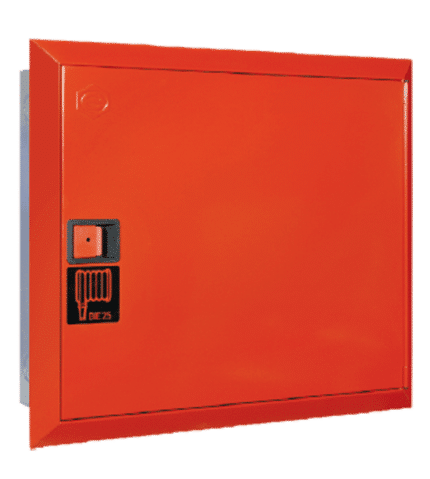 BIE + Armario extintor + Pulsador de alarma NARROW