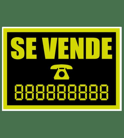 Señal / Cartel de Se vende