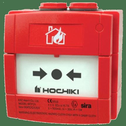 Pulsador convencional exteriores ATEX HOCHIKI. CCP-W-IS