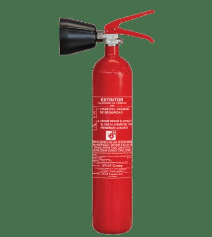 Extintor de dióxido de carbono CS2