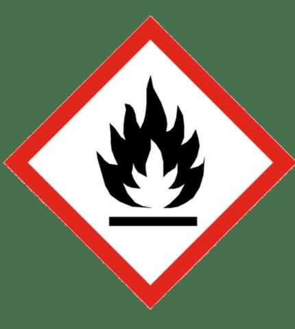 Señal de Sustancias inflamables