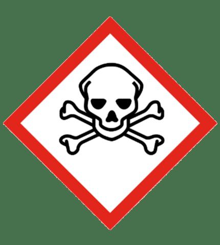 Señal de Sustancias tóxicas