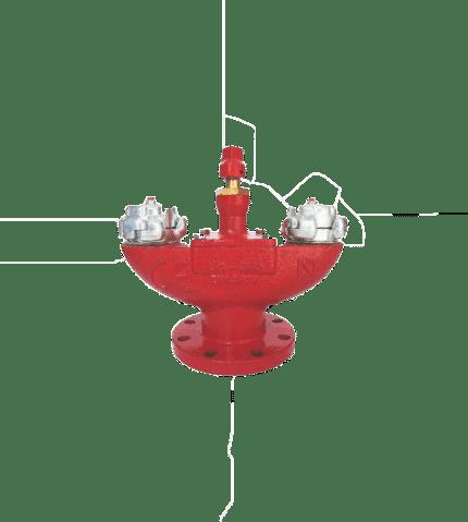 Hidrante bajo nivel de tierra HE