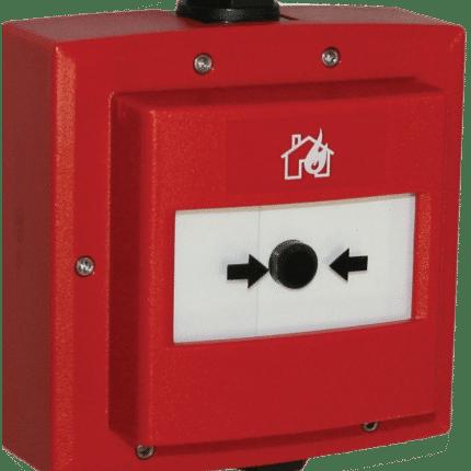 Pulsador de alarma direccionable. EC0010E