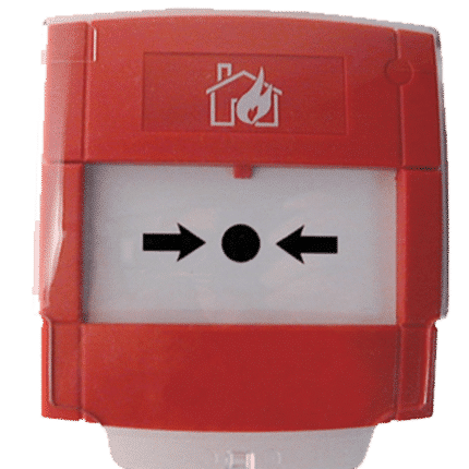 Pulsador de alarma sistema convencional