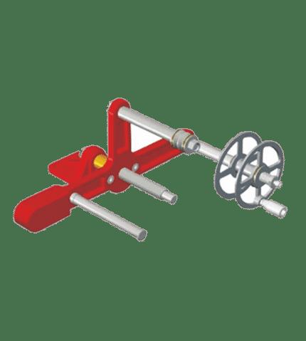 Máquina para racorar mangueras de presión y aspiración