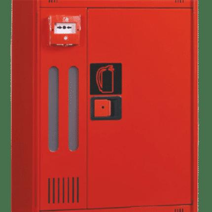 Armario Extintor + Pulsador de alarma. MT530