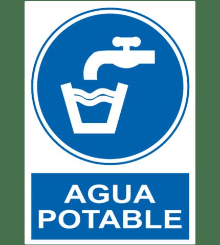 Señal / Cartel de Agua potable