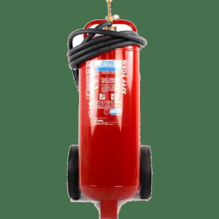 Carro extintor móvil de 45 lt de agua + aditivo PE45P