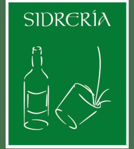 Señal / Cartel de Sidrería. Asturias