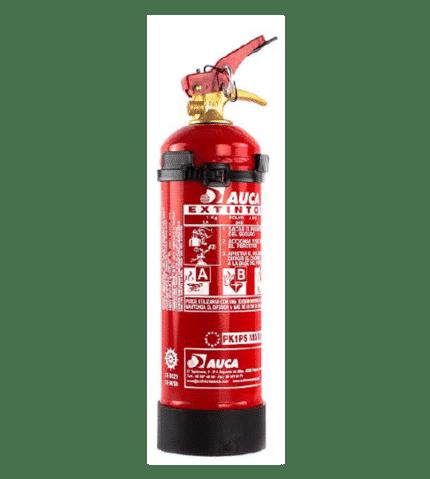 Extintor de 1 kg de polvo para marina PK1PS