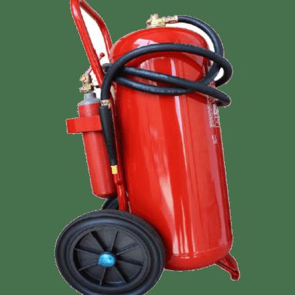 Carro extintor móvil 50 kg polvo marina PK50PM