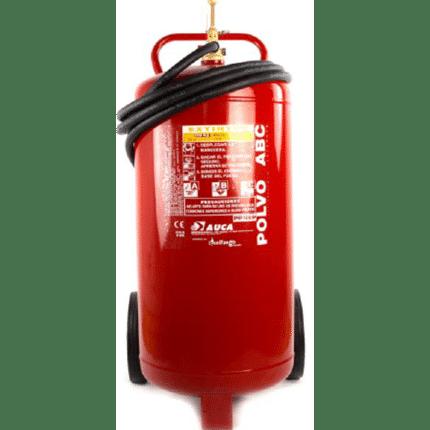 Carro extintor móvil de 100 kg de polvo PP100P