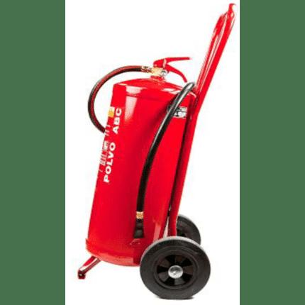 Carro extintor móvil 25 kg polvo marina PP25PM