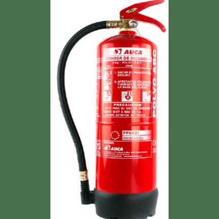 Extintor de 6 kg de polvo PP6HDI