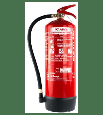 Extintor de 9 kg de polvo PP9HDI