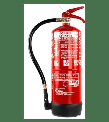 Extintor de 6 lt de agua + AFFF para marina PPE6