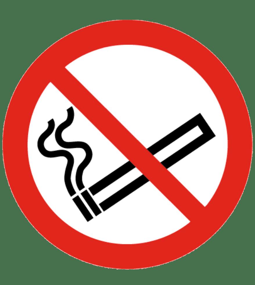 Senal Cartel De Prohibido Fumar