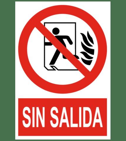 Señal / Cartel de Sin salida