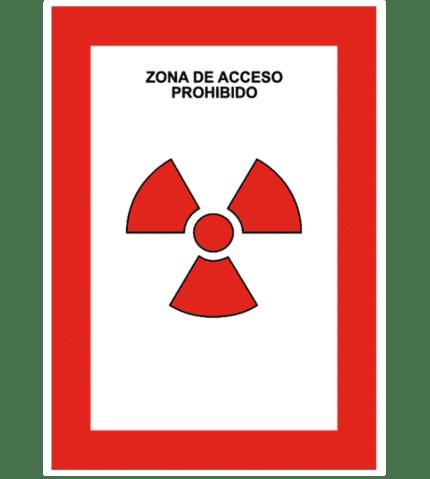 Señal de Zona de acceso prohibido