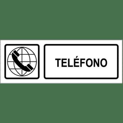 Señal / Cartel de Teléfono