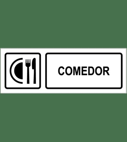 Señal / Cartel de Comedor