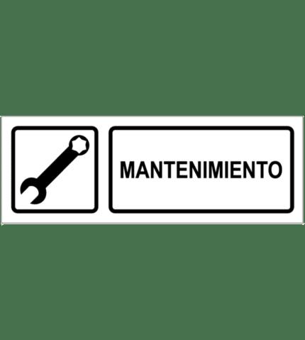 Señal / Cartel de Mantenimiento