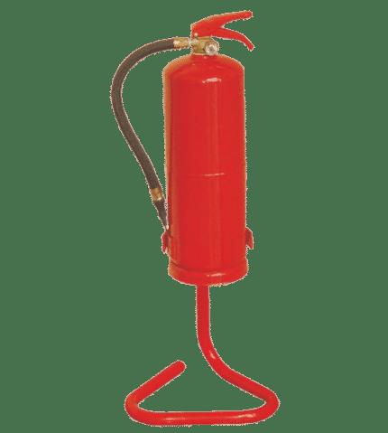 Soporte tubular para extintor STE
