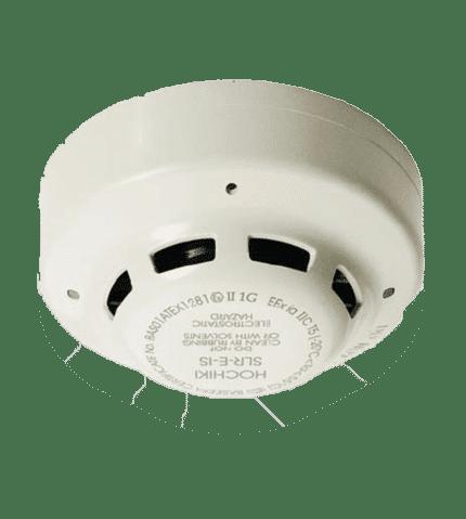 Detector óptico de humo intrínsecamente seguro. Hochiki