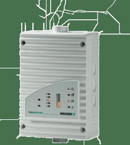 Detector por aspiración de humos Titanius MICRO-SENS