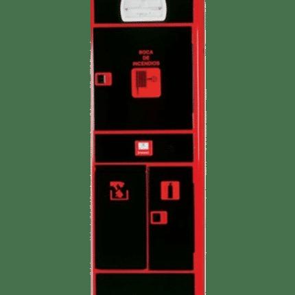 Columna de Servicios Ahynoa + Armario de extintor + Pulsador alarma