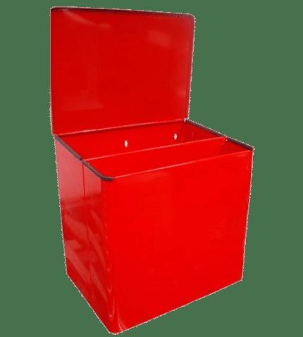 Papelera / Cotonera doble compartimento con pala