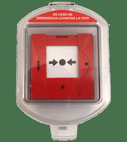 Caja estanca de protección IP-65 para pulsadores