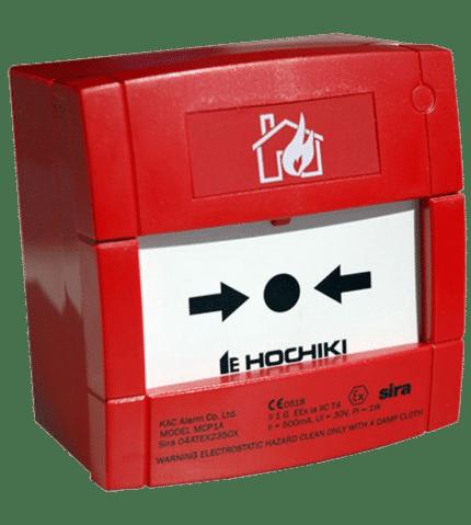 Pulsador de alarma intrínsecamente seguro CCP-E-IS