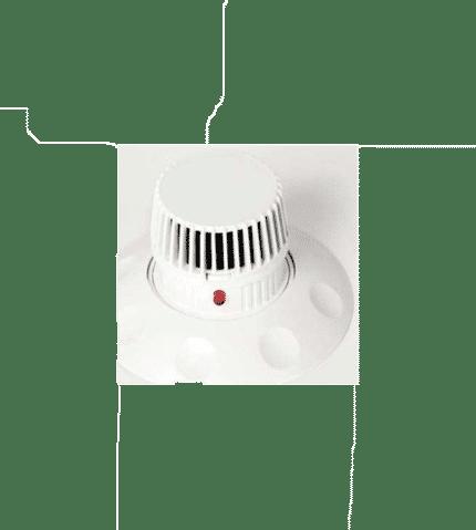 Detector óptico de humos IDH