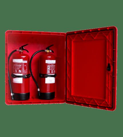 Armario de extintor Dúplex