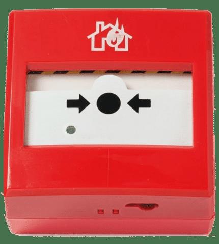 Pulsador de alarma direccionable. EC00200