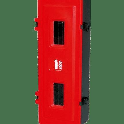 Armario / Cajón extintor 9/12 kg polvo, 5 kg CO2