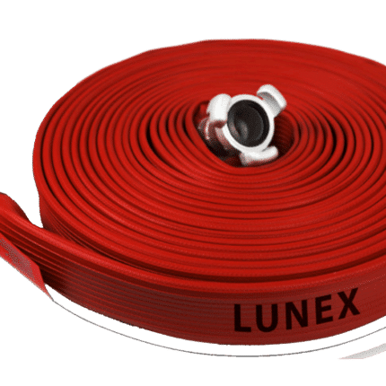 Manguera incendios LUNEX caucho plana