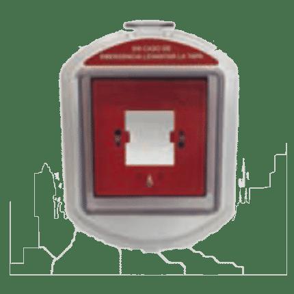 Caja estanca de protección IP-65 pulsadores multimarca